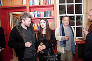 ALEX RUTTERFORD; ALEX MARIC; STEPHEN FREARS, Stanley Kubrick's Napoleon. The Greatet Movie Never Made. Book launch.  Published by Taschen. Launch held at Kubrick's family home Childwickbury House. Harpenden. 8 December 2009