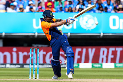 Virat Kohli of India plays a pull shot - Mandatory by-line: Robbie Stephenson/JMP - 30/06/2019 - CRICKET - Edgbaston - Birmingham, England - England v India - ICC Cricket World Cup 2019 - Group Stage