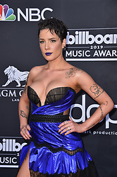 Halsey attends the 2019 Billboard Music Awards at MGM Grand Garden Arena on May 1, 2019 in Las Vegas, Nevada. Photo by Lionel Hahn/ABACAPRESS.COM