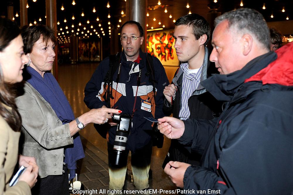 Jaarcongres van MKB-Nederland in het World Forum, Den Haag . // MKB Annual Congress n the World Forum, The Hague.<br /> <br /> Op de foto/ On the photo: