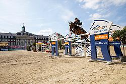 RÜDER Hans Thorben (GER), COMPAGNON 9<br /> Münster - Turnier der Sieger 2019<br /> Grosser Preis von Münster - Siegerrunde<br /> BEMER Riders Tour Etappenwertung<br /> CSI4* - Int. Jumping competition over 2 rounds (1.60 m)<br /> 04. August 2019<br /> © www.sportfotos-lafrentz.de/Stefan Lafrentz