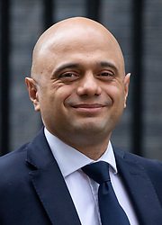 © Licensed to London News Pictures. 29/01/2019. London, UK. Home Secretary Sajid Javid leaves 10 Downing Street after attending a Cabinet meeting this morning. Photo credit : Tom Nicholson/LNP