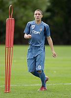 Photo: Daniel Hambury.<br />West Ham United Media Day. 10/08/2006.<br />Young winger Hogan Ephraim.