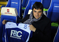 Michel New Signing for Birmingham City <br /> Birmingham City 2009/10<br /> Birmingham City V Nottingham Forest (1-0) 12/01/10<br /> The FA Cup 3rd Round Replay<br /> Photo Robin Parker Fotosports International