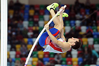 ATHLETICS - WORLD CHAMPIONSHIPS INDOOR 2012 - ISTANBUL (TUR) 09 to 11/03/2012 - PHOTO : STEPHANE KEMPINAIRE / KMSP / DPPI - <br /> POLE VAULT - MEN - FINALE - GOLD MEDALE - RENAUD LAVILLENIE (FRA)