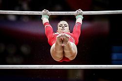 November 2, 2018 - Doha, Qatar - Elisabeth Seitz of Germany   during  Uneven Bars for Women at the Aspire Dome in Doha, Qatar, Artistic FIG Gymnastics World Championships on 2 of November 2018. (Credit Image: © Ulrik Pedersen/NurPhoto via ZUMA Press)