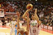 DESCRIZIONE : Pistoia campionato serie A 2013/14 Giorgio Tesi Group Pistoia Vanoli Cremona <br /> GIOCATORE : Riccardo Cortese<br /> CATEGORIA : tiro<br /> SQUADRA : Giorgio Tesi Group Pistoia<br /> EVENTO : Campionato serie A 2013/14<br /> GARA : Giorgio Tesi Group Pistoia Vanoli Cremona <br /> DATA : 10/11/2013<br /> SPORT : Pallacanestro <br /> AUTORE : Agenzia Ciamillo-Castoria/GiulioCiamillo<br /> Galleria : Lega Basket A 2013-2014  <br /> Fotonotizia : Pistoia campionato serie A 2013/14 Giorgio Tesi Group Pistoia Vanoli Cremona<br /> Predefinita :