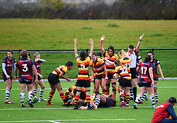 Richmond Women score a try to keep the pressure on Bristol Bears Women - Mandatory by-line: Paul Knight/JMP - 26/10/2019 - RUGBY - Shaftesbury Park - Bristol, England - Bristol Bears Women v Richmond Women - Tyrrells Premier 15s