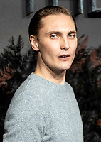 Eamon Farren at THE WORLD PREMIERE OFTHE WITCHER at Vue Leicester Square London,  UK - 16 Dec 2019 photo by  Brian Jordan
