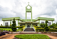 Igreja Matriz. Iporã do Oeste, Santa Catarina, Brasil. / <br /> Mother Church. Ipora do Oeste, Santa Catarina, Brazil.