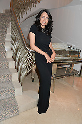 RENU MEHTA at the Fortune Forum Club dinner in the presence of HSH Prince Albert II of Monaco held at The Dorchester, Park Lane, London on 15th January 2014.