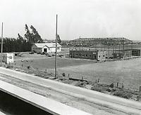 1919 Construction of Hollywood Studios on Santa Monica Blvd.
