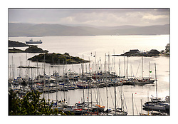 Brewin Dolphin Scottish Series 2011, Tarbert Loch Fyne - Yachting - Day 1 of the 4 day series...Tarbert harbour
