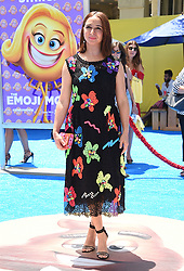 July 23, 2017 - Westwood, California, U.S. - Maya Rudolph arrives for the premiere of the film 'The Emoji Movie' at the Regency Village theater. (Credit Image: © Lisa O'Connor via ZUMA Wire)