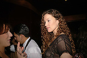 Lydia Purnell, Spring party at Frankie Dettori's bar and Grill. 3 Yeoman's Row. London sw3. 10 April 2006. ONE TIME USE ONLY - DO NOT ARCHIVE  © Copyright Photograph by Dafydd Jones 66 Stockwell Park Rd. London SW9 0DA Tel 020 7733 0108 www.dafjones.com