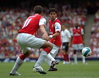 Photo: Tony Oudot. <br /> Arsenal v Fulham. Barclays Premiership. 12/08/2007. <br /> Cesc Fabregas of Arsenal
