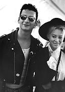 David Gahan of Depeche Mode, photographed at Pasadena Rose Bowl, June 1988.