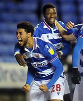 Football - 2020 / 2021 Sky Bet Championship - Reading v AFC Bournemouth - Madjeski Stadium<br /> <br /> Laurent of Reading celebrates scoring goal no 1 <br /> <br /> COLORSPORT/ANDREW COWIE