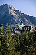 © 2007 Randy Vanderveen, all rights reserved.Waterton Lakes, Alberta..Prince of Wales Hotel