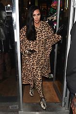 PFW Kim Kardashian in bold leopard print - 6 March 2019