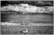Sailing boat at Dungeness