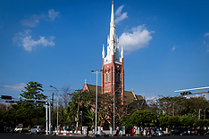 Holy Trinity Cathdral, Yangon, Myanmar