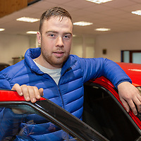 Michael Hamilton who was nominated for the Billy Coleman Young Rally Driver of the Year Award 2018