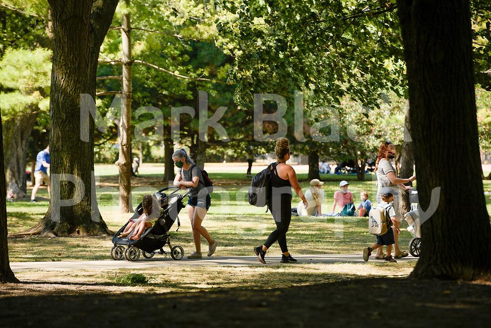 Oz Park in Chicago on Thursday, Sept. 3, 2020. Photo by Mark Black