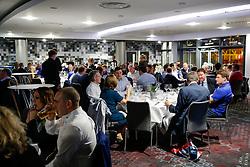 General View of the dining room during the Player Sponsors' Dinner in the Heineken Lounge at Ashton Gate - Mandatory byline: Rogan Thomson/JMP - 08/02/2016 - RUGBY UNION - Ashton Gate Stadium - Bristol, England - Bristol Rugby Player Sponsors' Dinner.