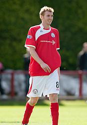 Brechin City's Gary Fusco..Brechin City 1 v 2 Falkirk, The Ramsden Cup..©Pic : Michael Schofield.