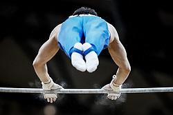 October 29, 2018 - Doha, Qatar - David Belyavskiy of Russia   during  High Bar, Team final for Men at the Aspire Dome in Doha, Qatar, Artistic FIG Gymnastics World Championships on October 29, 2018. (Credit Image: © Ulrik Pedersen/NurPhoto via ZUMA Press)