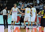 DESCRIZIONE : Verona Campionato Lega Basket A2 2011-12 Tezenis Verona Sigma Barcellona<br /> GIOCATORE : Esultanza Tezenis Verona<br /> SQUADRA : Tezenis Verona<br /> EVENTO : Campionato Lega Basket A2 2011-2012<br /> GARA : Tezenis Verona Sigma Barcellona<br /> DATA : 13/11/2011<br /> CATEGORIA : Esultanza<br /> SPORT : Pallacanestro <br /> AUTORE : Agenzia Ciamillo-Castoria/L.Lussoso<br /> Galleria : Lega Basket A2 2011-2012 <br /> Fotonotizia : Verona Campionato Lega Basket A2 2011-12 Tezenis Verona Sigma Barcellona<br /> Predefinita :