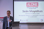 NO FEE PICTURES                                                                                                                                                30/5/19 Community groups from across Ireland attended the Befriending Network Ireland (BNI) seminar in Dublin's Guinness Enterprise Centre on Thursday, which discussed the development of a sustainable community sector. Pictured is Sean Moynihan, CEO Alone. Picture: Arthur Carron