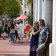 State Street in Santa Barbara is the main thoroughfare for shopping, dining, bar hopping and strolling.