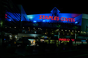 General overall view of the Staples Center exterior during the NBA All-Star Game, Saturday, Feb. 14, 2004, in Los Angeles.