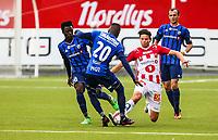 Fotball<br /> Tippeliga 2016<br /> Tromsø IL vs Stabæk 24.07.2016<br /> Fredrik Michalsen, TromsøKamal Issah, StabækLuc Kassi, Stabæk<br /> <br /> Foto: Tom Benjaminsen / Digitalsport