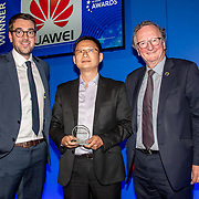 Huawei winner of the Revolutionary Network Densification Initiative of the 5G Awards ceremony at Drapers' Hall, on 12 June 2019, London, UK.