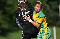 Photo: Maarten Straetemans.<br /> AGOVV Apeldoorn v Norwich City. Pre Season Friendly. 21/07/2007.<br /> Chris Brown (right)