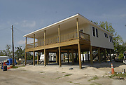 Volunteers from across America help rebuild Brian Mollere's home in Waveland after is was destroyed by Hurricane Katrina. Photo ©Suzi Altman