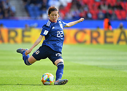shimizu during the FIFA Women's World Cup group D first round soccer match between Argentina and Japan at Parc des Princes Stadium in Paris, France on June 10, 2019. The FIFA Women's World Cup France 2019 will take place in France from 7 June until 7 July 2019. Photo by Christian Liewig/ABACAPRESS.COM