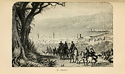 Beyrout [Beirut], Lebanon engraving on wood From The human race by Figuier, Louis, (1819-1894) Publication in 1872 Publisher: New York, Appleton