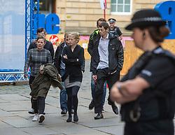 Alesha MacPhail's mum Georgina Lochrane arriving at the Court of Appeal in Edinburgh this morning.