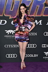 Lydia Hearst attends the world premiere of Walt Disney Studios Motion Pictures 'Avengers: Endgame' at the Los Angeles Convention Center on April 22, 2019 in Los Angeles, CA, USA. Photo by Lionel Hahn/ABACAPRESS.COM