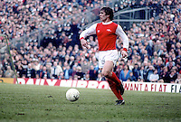 Kenny Samson, footballer, Arsenal FC, photographed during match on 27th February 1982 against Swansea. 198202270022b<br /> <br /> Copyright Image from Victor Patterson,<br /> 54 Dorchester Park, Belfast, UK, BT9 6RJ<br /> <br /> t1: +44 28 90661296<br /> t2: +44 28 90022446<br /> m: +44 7802 353836<br /> <br /> e1: victorpatterson@me.com<br /> e2: victorpatterson@gmail.com<br /> <br /> For my Terms and Conditions of Use go to<br /> www.victorpatterson.com
