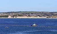 Carbis Bay Cornwall during the  G7 Summit 2021photo by Krisztian Kobold Elek