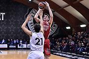 DESCRIZIONE : Roma Adidas Next Generation Tournament 2015 Armani Junior Milano Unipol Banca Bologna<br /> GIOCATORE : Michele Serpilli<br /> CATEGORIA : tiro<br /> SQUADRA : Armani Junior Milano<br /> EVENTO : Adidas Next Generation Tournament 2015<br /> GARA : Armani Junior Milano Unipol Banca Bologna<br /> DATA : 29/12/2015<br /> SPORT : Pallacanestro<br /> AUTORE : Agenzia Ciamillo-Castoria/GiulioCiamillo<br /> Galleria : Adidas Next Generation Tournament 2015<br /> Fotonotizia : Roma Adidas Next Generation Tournament 2015 Armani Junior Milano Unipol Banca Bologna<br /> Predefinita :