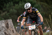 during the Prologue of the 2019 Absa Cape Epic Mountain Bike stage race held at the University of Cape Town in Cape Town, South Africa on the 17th March 2019.<br /> <br /> Photo by Greg Beadle/Cape Epic<br /> <br /> PLEASE ENSURE THE APPROPRIATE CREDIT IS GIVEN TO THE PHOTOGRAPHER AND ABSA CAPE EPIC