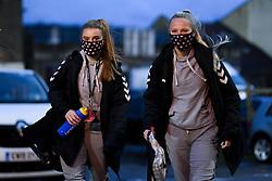 Sophie Baggaley of Bristol City Women arrives at Twerton Park prior to kick off - Mandatory by-line: Ryan Hiscott/JMP - 14/11/2020 - FOOTBALL - Twerton Park - Bath, England - Bristol City Women v Tottenham Hotspur Women - Barclays FA Women's Super League