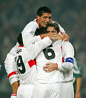 Fotball<br /> UEFA Champions League 2003/2004<br /> 22.10.2003<br /> Norway Only<br /> Foto: Digitalsport<br /> <br /> 1: 0 Tor von Szabics Jubel VFB<br /> Champions League VfB Stuttgart - Panathinaikos Athen