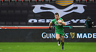 Connacht's Matt Healy in action during todays match.<br /> <br /> Guinness Pro12 rugby match, Ospreys v Connacht rugby at the Liberty Stadium in Swansea, South Wales on Saturday 7th January 2017.<br /> pic by Craig Thomas, Andrew Orchard sports photography.